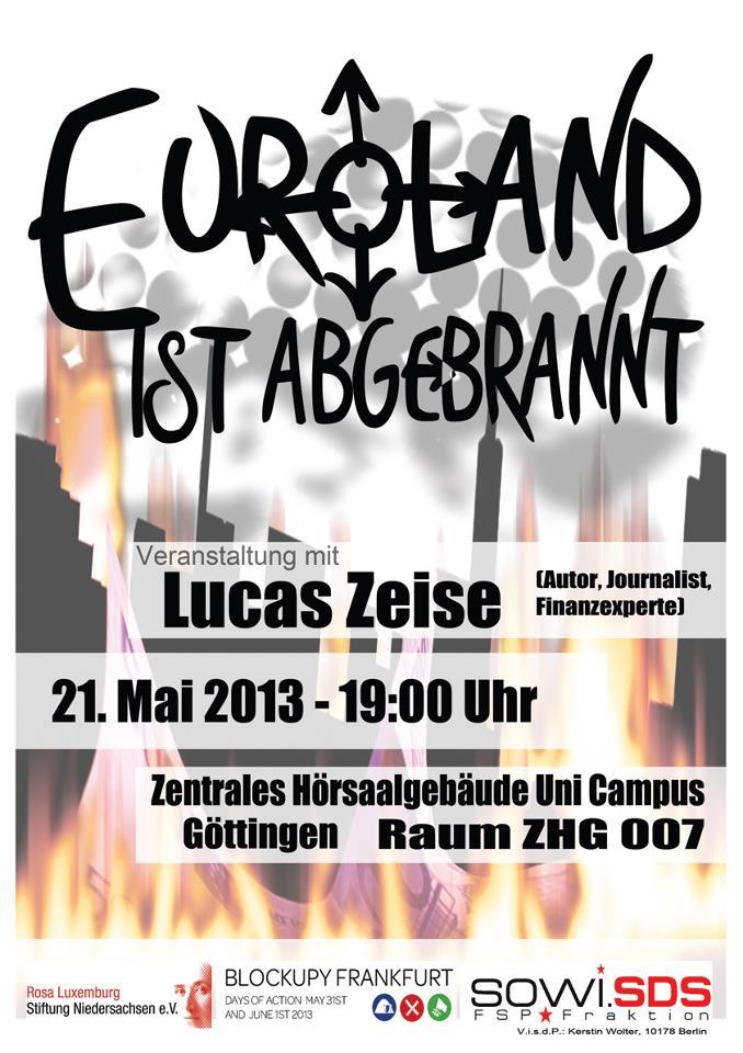 Euroland ist abgebrannt